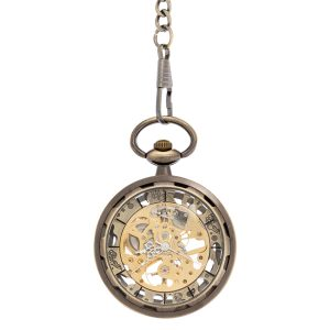 Patterned Pocket Watch