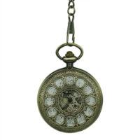Gold Dial Half Hunter Fob Watch
