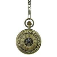 Golden Roman Numerals Half Hunter Fob Watch