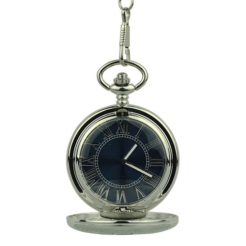Silver Victorian Half Hunter Pocket Watch