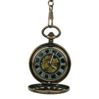 Brass Sunspear Hunter Fob Watch