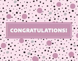 """Congratulations"" Pink"