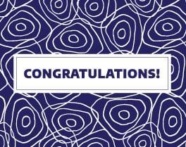 """Congratulations"" Blue"